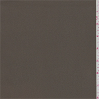 Timber Brown Microfiber Twill Peachskin