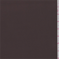 Chocolate Brown Microfiber Twill Peachskin