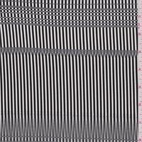 Black/White Modern Stripe Activewear