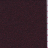 Cranberry Red Wool Jacketing