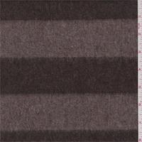 Cocoa/Mocha Stripe Wool Jacketing