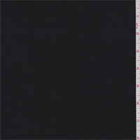 *3 YD PC--Soft Black Rayon Challis