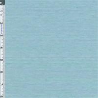 *3 YD PC--Aqua Blue Stripe Stretch Modal Featherweight Jersey Knit Fabric