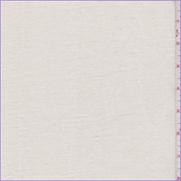 Pale Cream Washed Linen