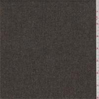 Olive Brown/Grey Herringbone Wool Flannel Suiting