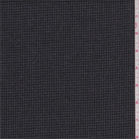 Charcoal/Black Houndstooth Wool Suiting