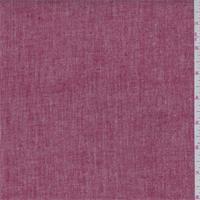 Red/White Crosshatch Linen