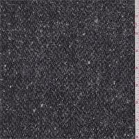 Black/Charcoal Wool Coating