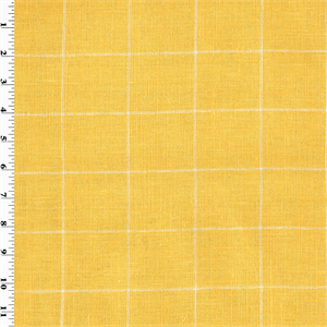 wholesale home decorating fabrics designer cotton sun yellow windowpane home decorating 11842
