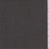 Black/Tan Herringbone Stripe Poly Blend Suiting
