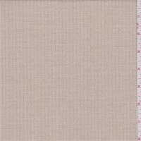 Cream/Beige Herringbone Stripe Poly Blend Suiting