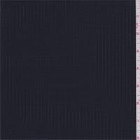 Navy/Silver Broken Stripe Wool Suiting
