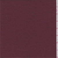 Wine/Orange Textured Rayon Blend Suiting