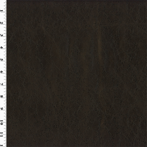 Dark Brown Faux Leather Upholstery Dfw51523 Fashion Fabrics