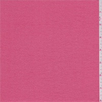 *3 1/8 YD PC--Melon Pink Micro French Terry Knit