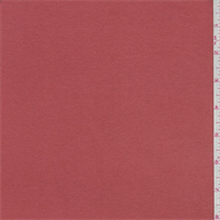 *3 YD PC--Terra Cotta Orange Rib Knit