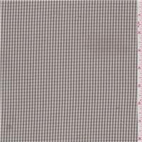*3 3/4 YD PC--Tan/Black Cotton Suiting