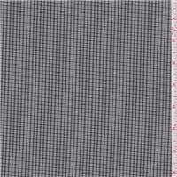 *2 7/8 YD PC--Taupe Plaid Cotton Suiting