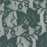 *3 YD PC--Hunter Green Stretch Lace