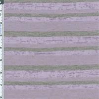 *3 1/2 YD PC--Purple/Gray Linen Blend Jersey Knit