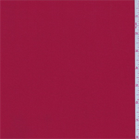 *3 YD PC--Cherry Red Polyester Georgette