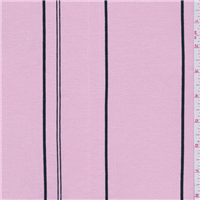 *3 YD PC--Pink Stripe Linen Suiting