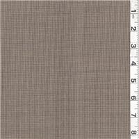 *2 1/2 YD PC--Dark Beige/Orange Wool Suiting