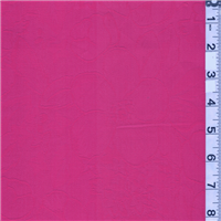 *2 3/4 YD PC--Bright Pink Floral Jacquard