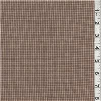*2 1/2 YD PC--Tan/Dark Brown Suiting
