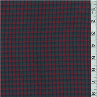 *3 YD PC--Green/Red Suiting