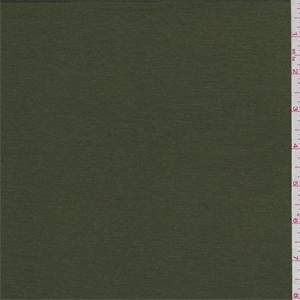 Deep Olive Green Bamboo Jersey Knit 61884 Discount Fabrics