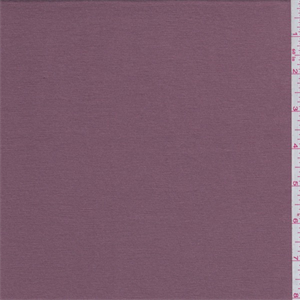 Dark Mauve Bamboo Jersey Knit 61893 Fashion Fabrics