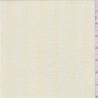 Pale Yellow Stripe Cotton Gauze