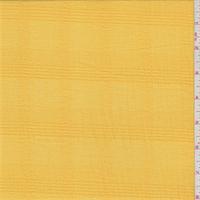 Golden Yellow Plaid Cotton Gauze