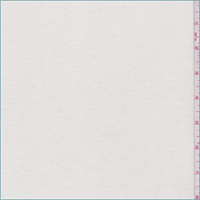 *2 YD PC--Whisper White French Terry Knit
