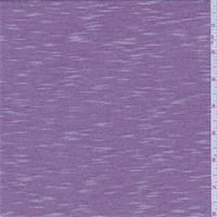 Plum/White Micro Stripe Jersey Knit