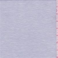 Pearl Grey/White Micro Stripe Jersey Knit