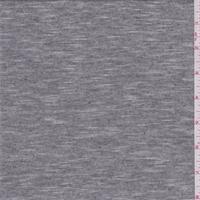 Black/White Micro Stripe Jersey Knit