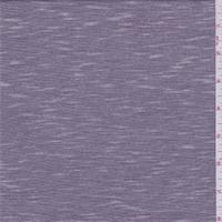Purple/White Micro Stripe Jersey Knit