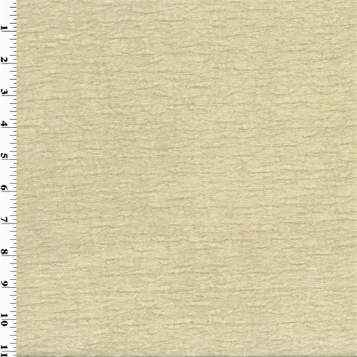 Designer Dune Cream Ivory Mana Chenille Home Decorating