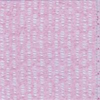 Heather Pink Burnout Jersey Knit