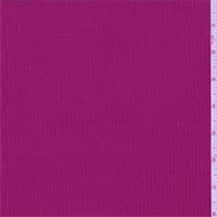 Raspberry Jersey Rib Knit