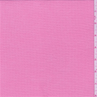 Watermelon Pink Thermal Knit
