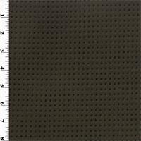 Polartec Single Sided Grid Shag Fleece - Dark Ash