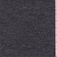 *2 1/2 YD PC--Heather Charcoal Wool Sweater Knit