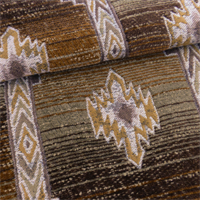 Brown/Beige Canyon Aztec Chenille Home Decorating Fabric