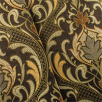 Brown/Beige Designer Quagmire Jacquard Home Decorating Fabric