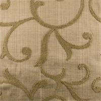 Designer Cafe Brown Beale Embroidered Home Decorating Fabric