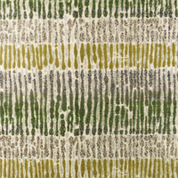 Green/Beige Inception Chenille Stripe Jacquard Home Decorating Fabric