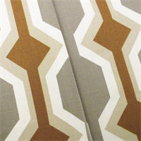 Gray/Beige Designer Holland Print Home Decorating Fabric